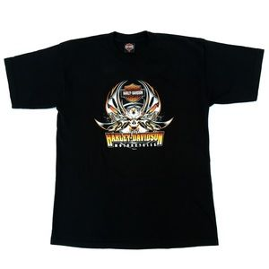 Harley Davidson California Black Graphic T Shirt